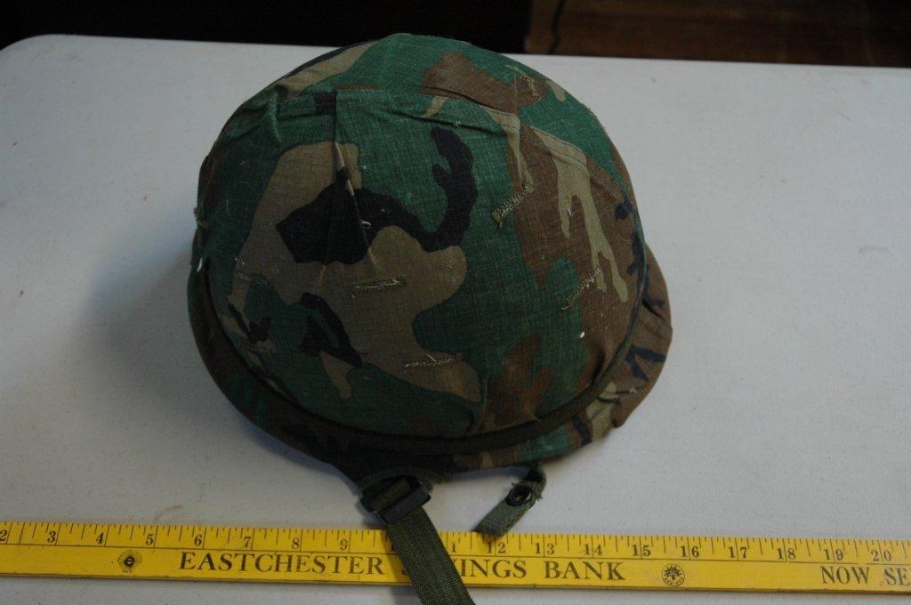 US ARMY VIETNAM WAR M1 COMBAT HELMET