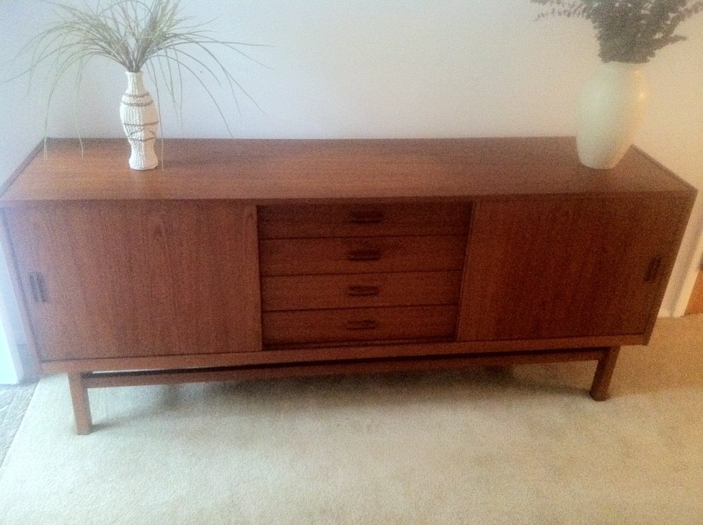 Danish Modern #sideboard / #Buffet