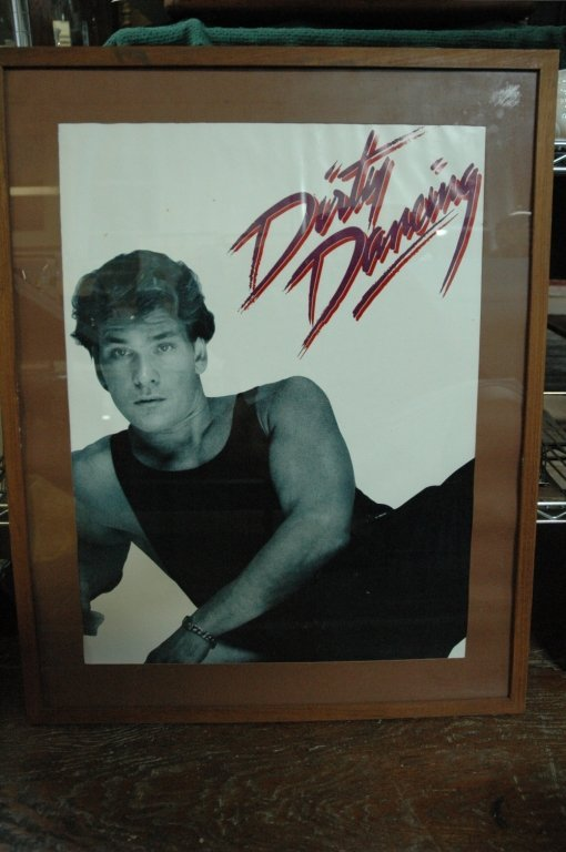 Dirty Dancing, Patrick Swayze Poster