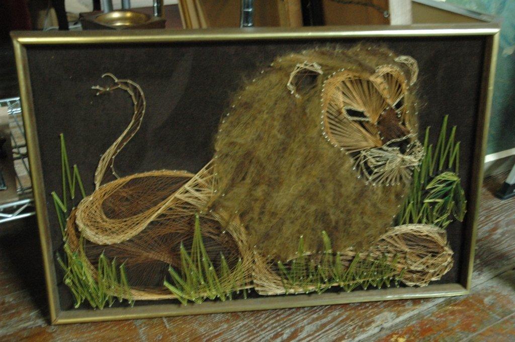 Lion String & Nail art