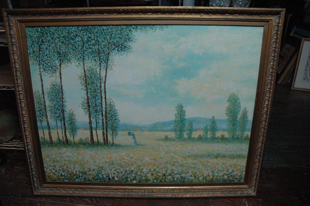 Eanest VAn Hoorde Oil on Canvas