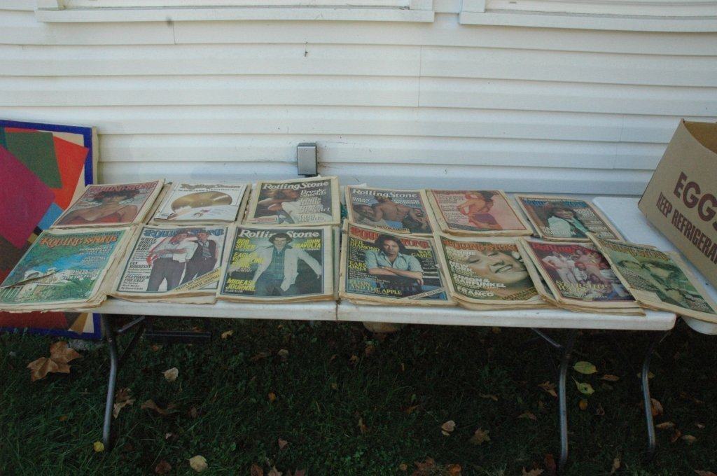 Rolling Stone Magazine collection