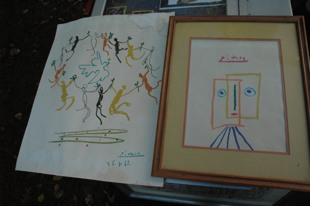 #Picasso lithograph set