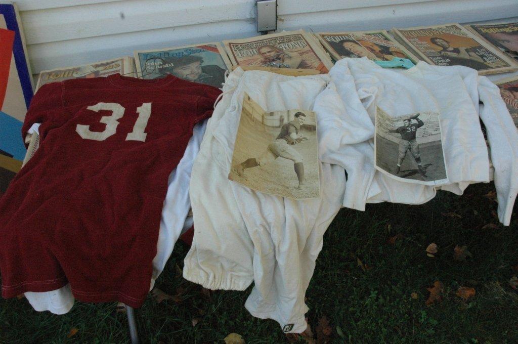 Vintage North Rockland Football uniform