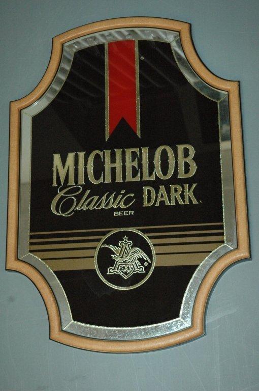 #Michelob #Classic #Dark Beer #Mirror Ad.