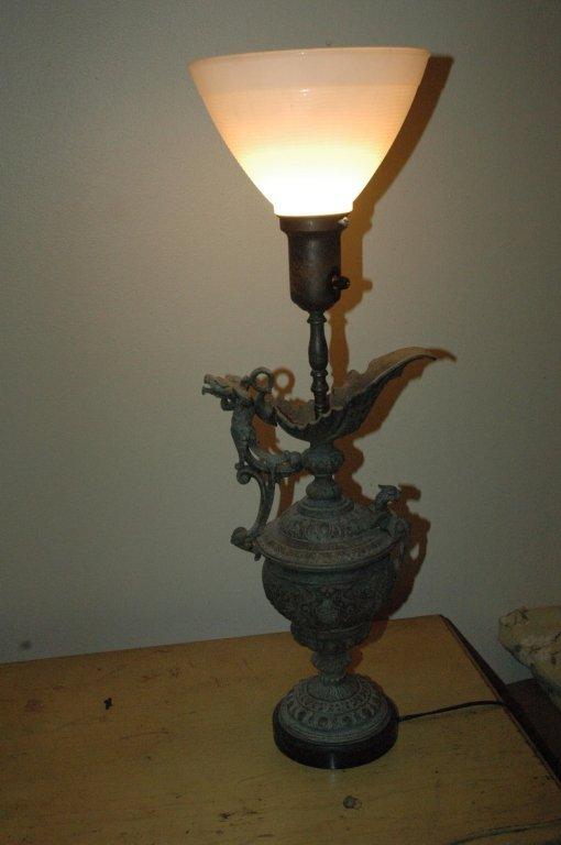 Circa 1920s Chinese Lamp