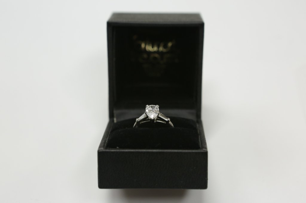 Platinum 1.55ct VS Quality E-F Color Diamond Engagement - 8