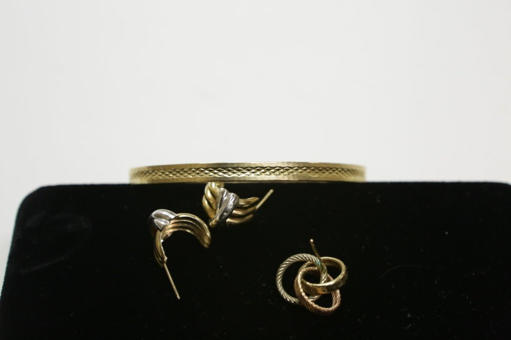 14K gold jewelry lot - 2