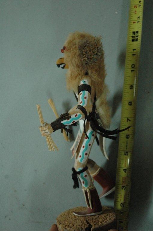 """Kachina doll """"Owl"""" signed - 2"""