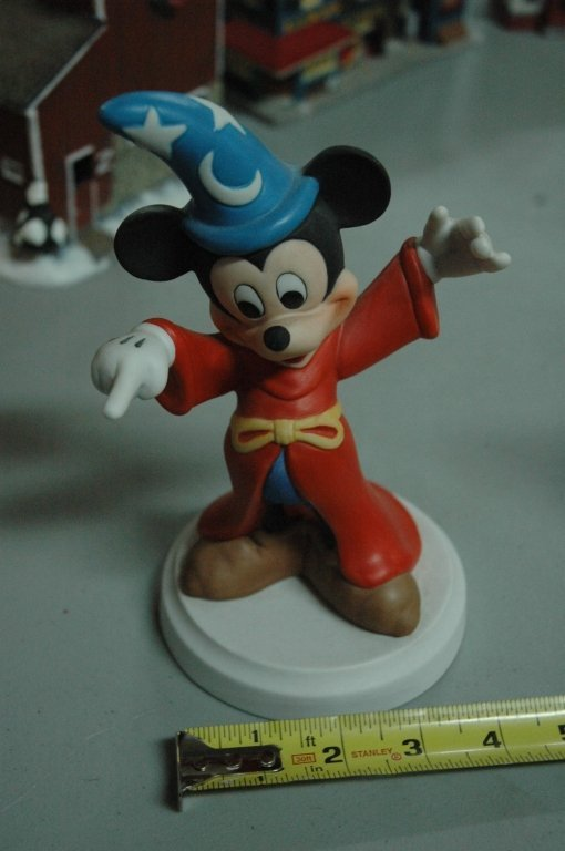 Mickey Mouse in Fantasia outfit