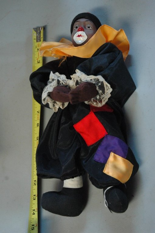 Homey D. Clown In Living Color porcelain doll