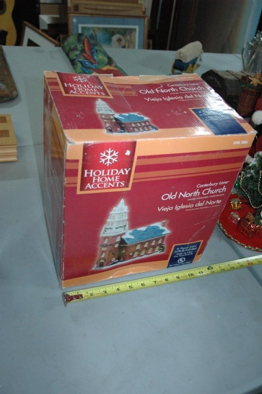 """Holiday Home Accents """" Old North Church """""""