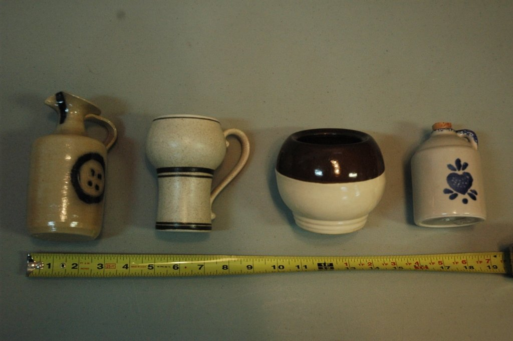4 piece pottery lot