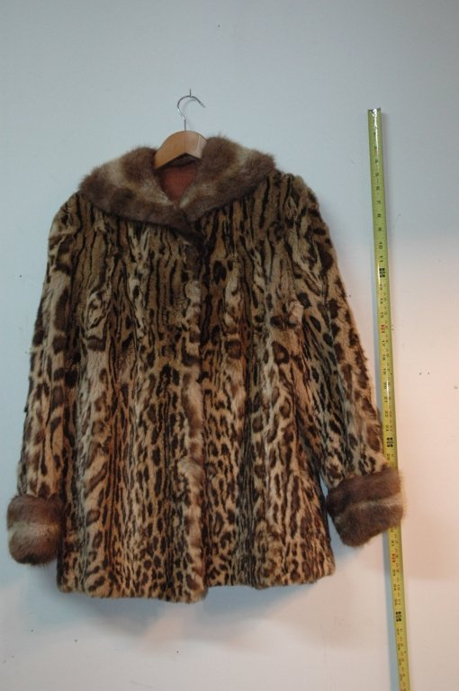 Leopard & Fur Coat
