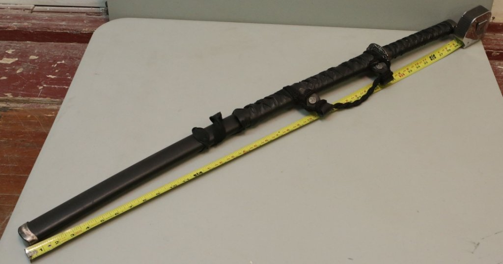 Stainless Steel Samurai Sword