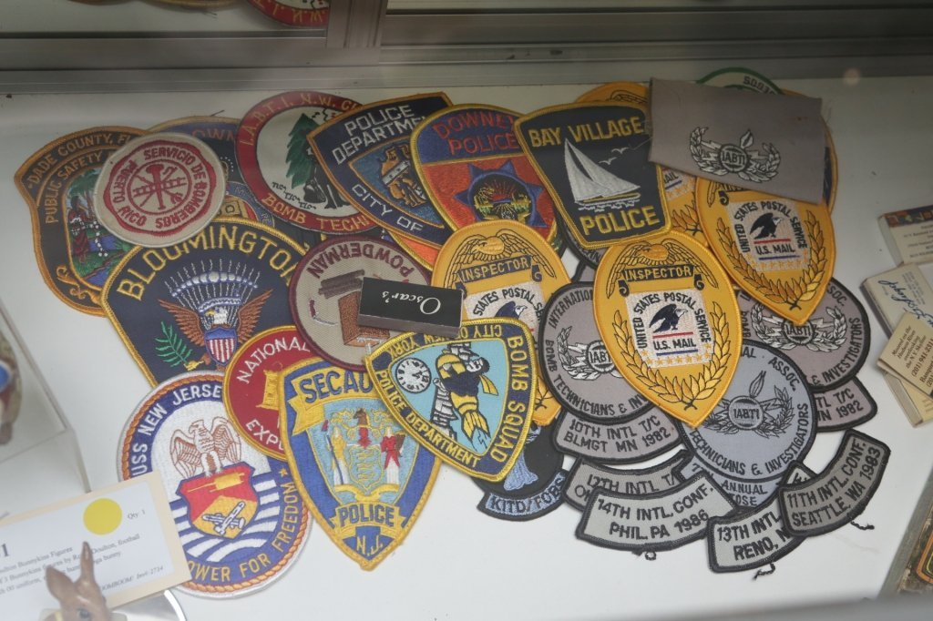 Military and Civil service patch collection