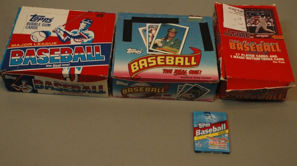 1988 & 1989  Topps and 1988 Score MLB cards - 2