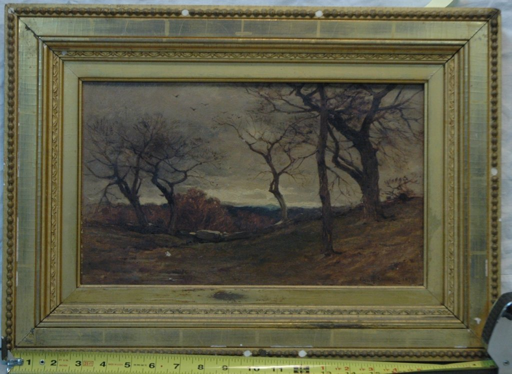 George H. Smillie (1840-1921, NY) Oil on canvas