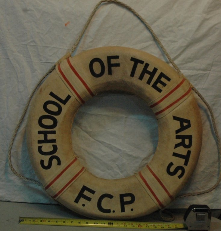Painted Life Preserver