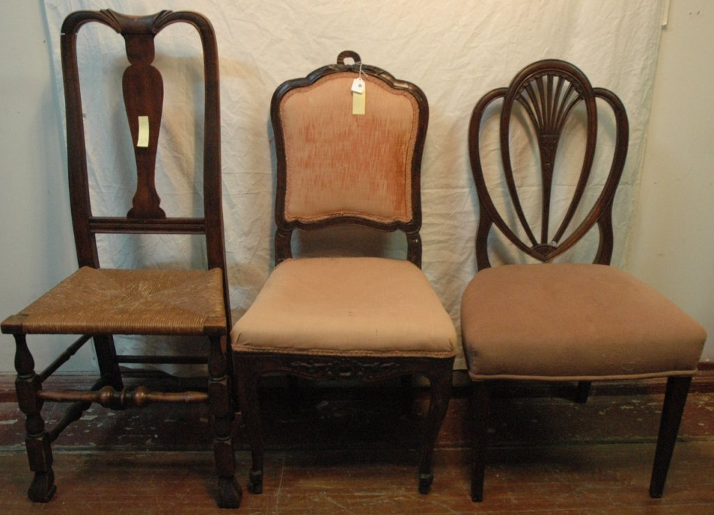 Chair Lot- 3 chairs