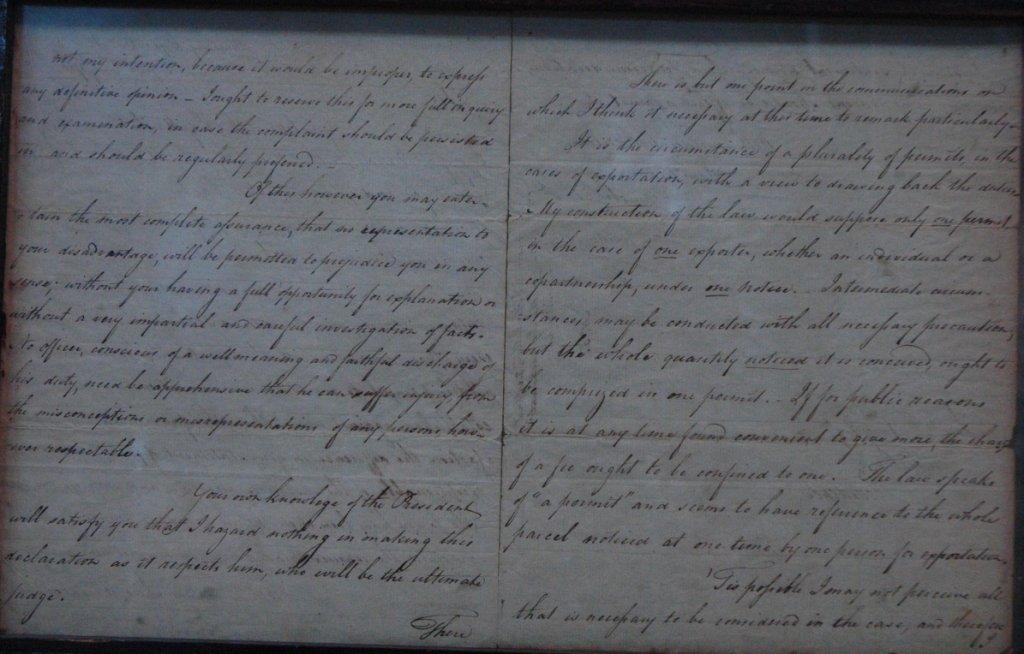 Alexander Hamilton ALS Dated Apr 2 1793 - 2