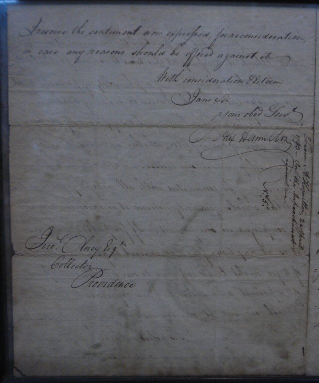 Alexander Hamilton ALS Dated Apr 2 1793 - 4