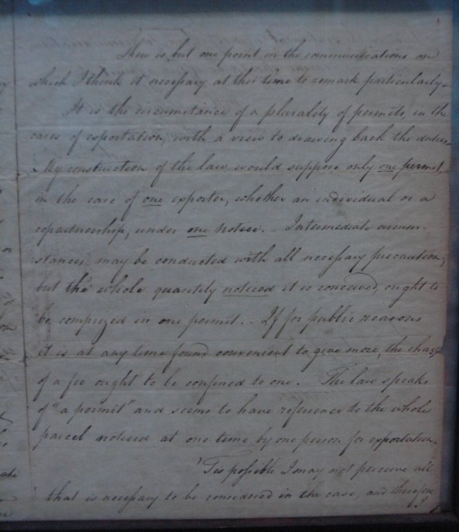 Alexander Hamilton ALS Dated Apr 2 1793 - 6