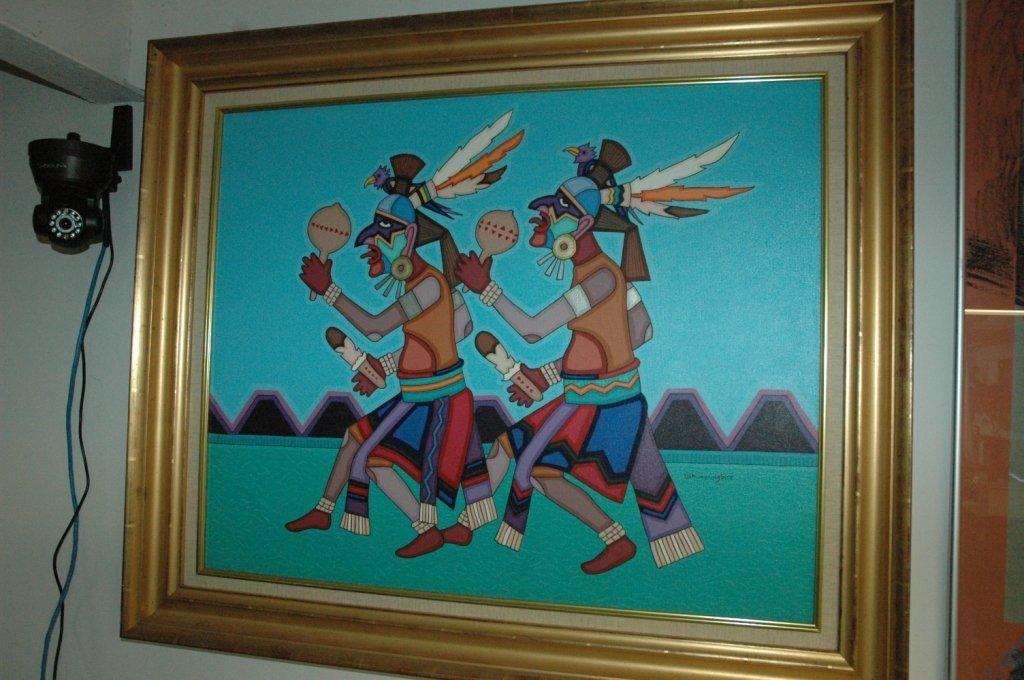 Jesse T Hummingbird Painting