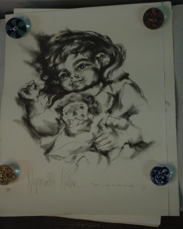 Hyacinthe Kuller Baron A / P and numbered litho's - 4