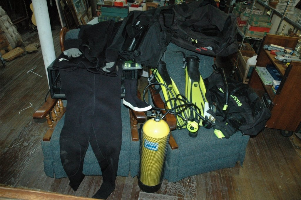 U.S. Divers Aqua Lung Scuba gear