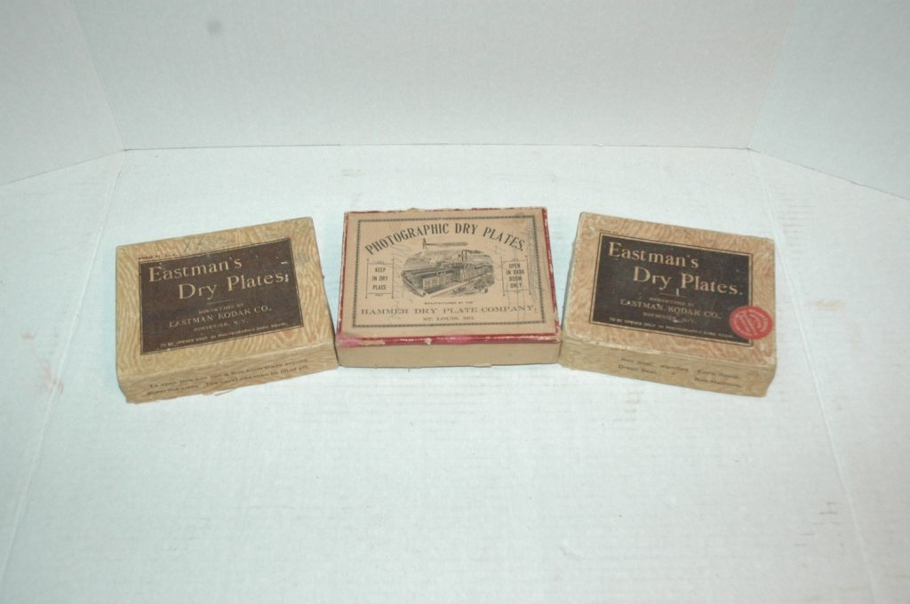 Eastman's Dry Plates , Kodak co. unused with...