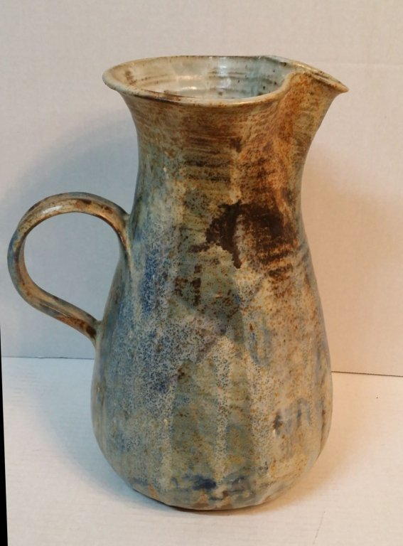 Paul Chaleff Pottery Pitcher Dated 1976