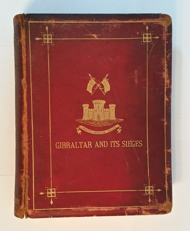 """1st edition  """" Gibraltar and Its Streets """""""