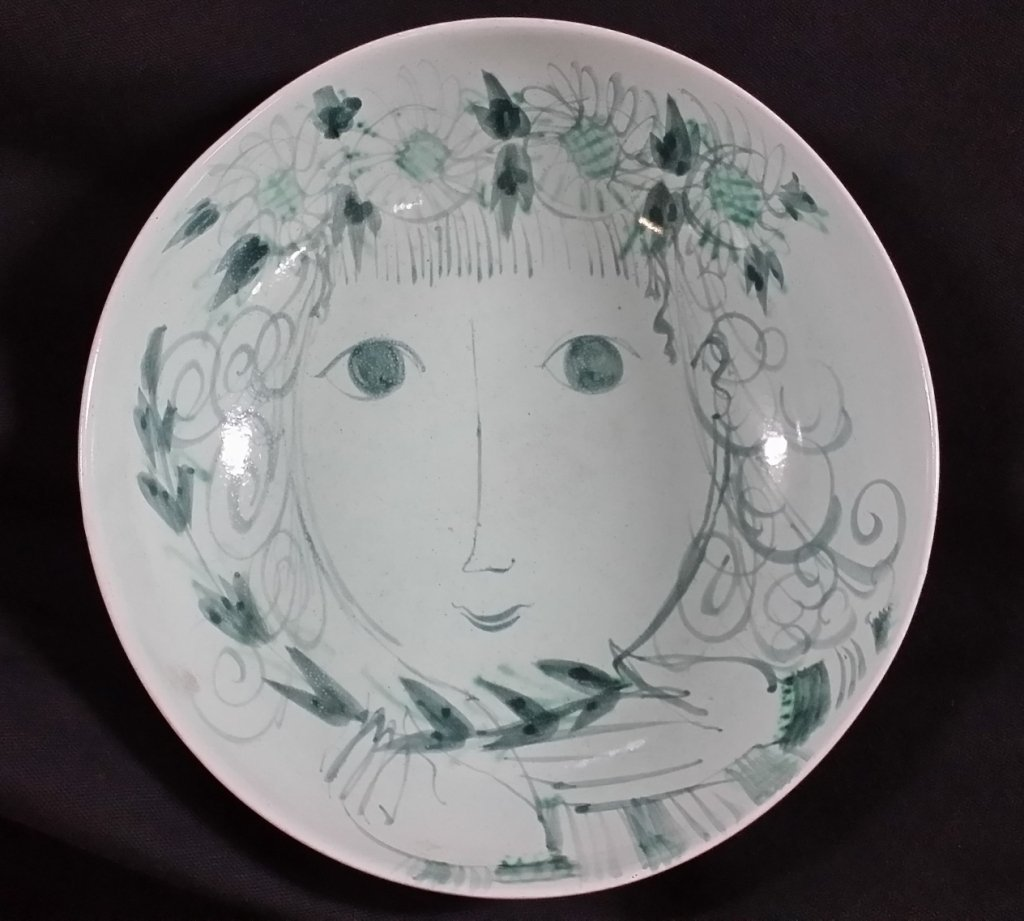 Bjorn Wiinblad Ceramic Bowl '49