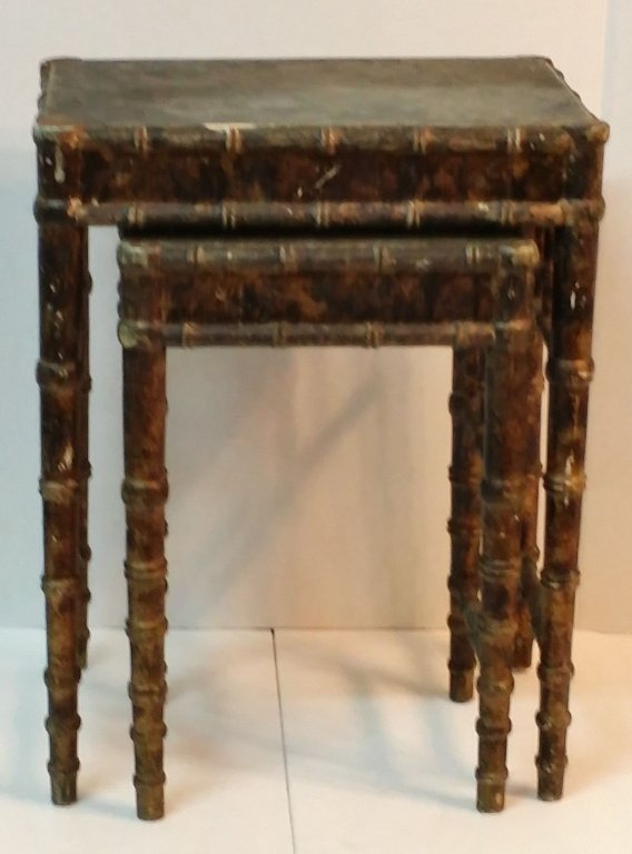 Italian Stacking end tables