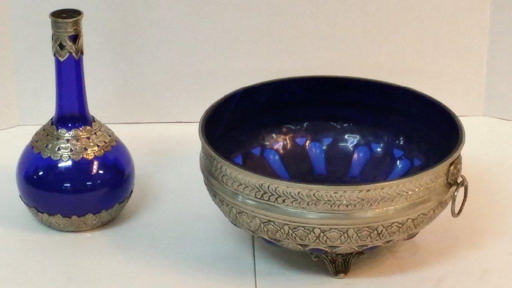 Cobalt blue wash set