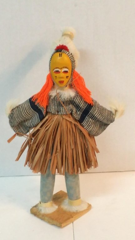 Witch Doctor doll