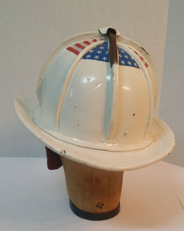 Cairns & Bros Leather Fire Helmet