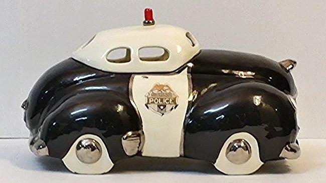 Glenn Appleman Police Car Cookie Jar