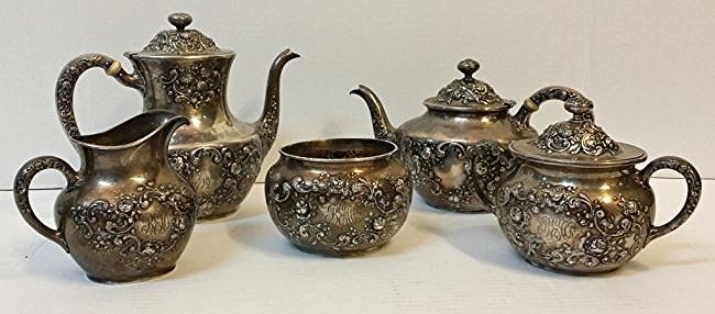 "A Gorham ""Fleury"" Sterling Silver Tea / coffee set"