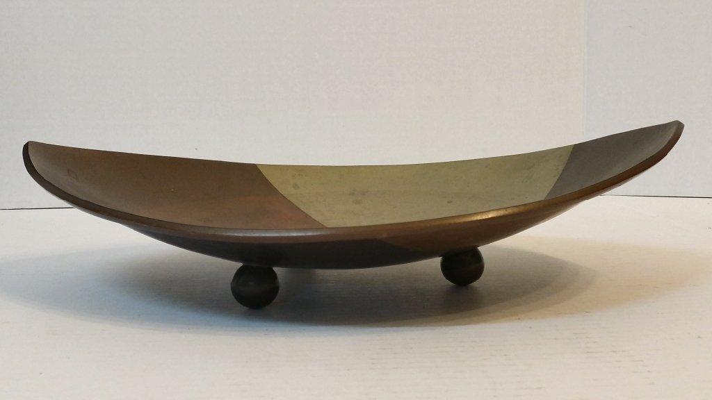 """A Mexican mixed metals bowl, """"S. Garcia"""""""