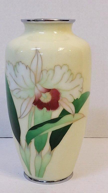 A Vintage Japanese cloisonne Vase