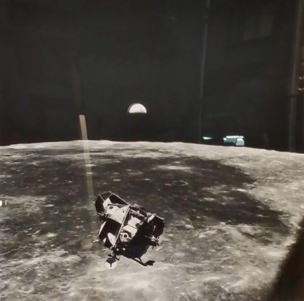 Apollo 11 Lunar Module photo (NY Times)