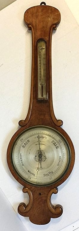 Antique English Barometer, as found