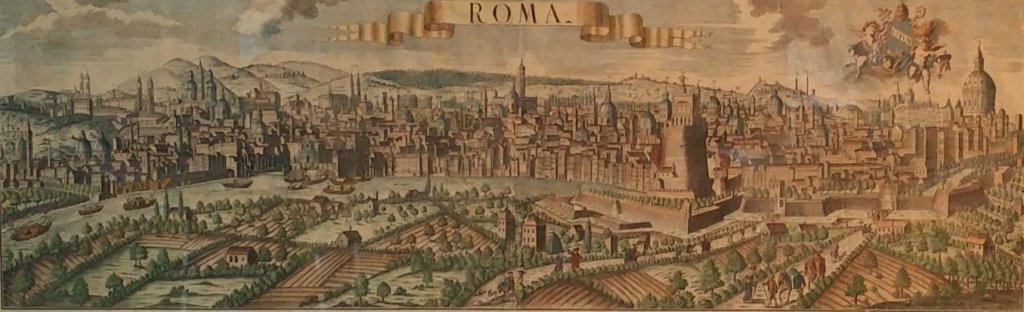 "Antique Engraving ""Roma"" Probst, Georg Balthazar"