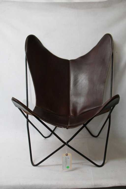 A Vintage Knoll Hardoy Butterfly Chair