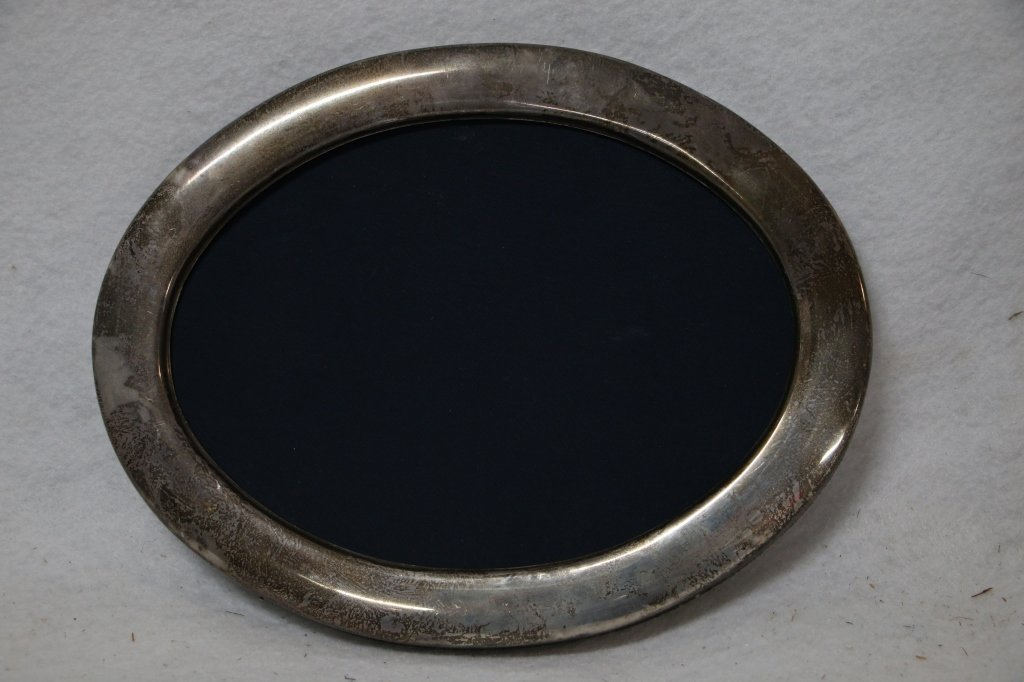 A Sterling Silver English Hallmarked frame