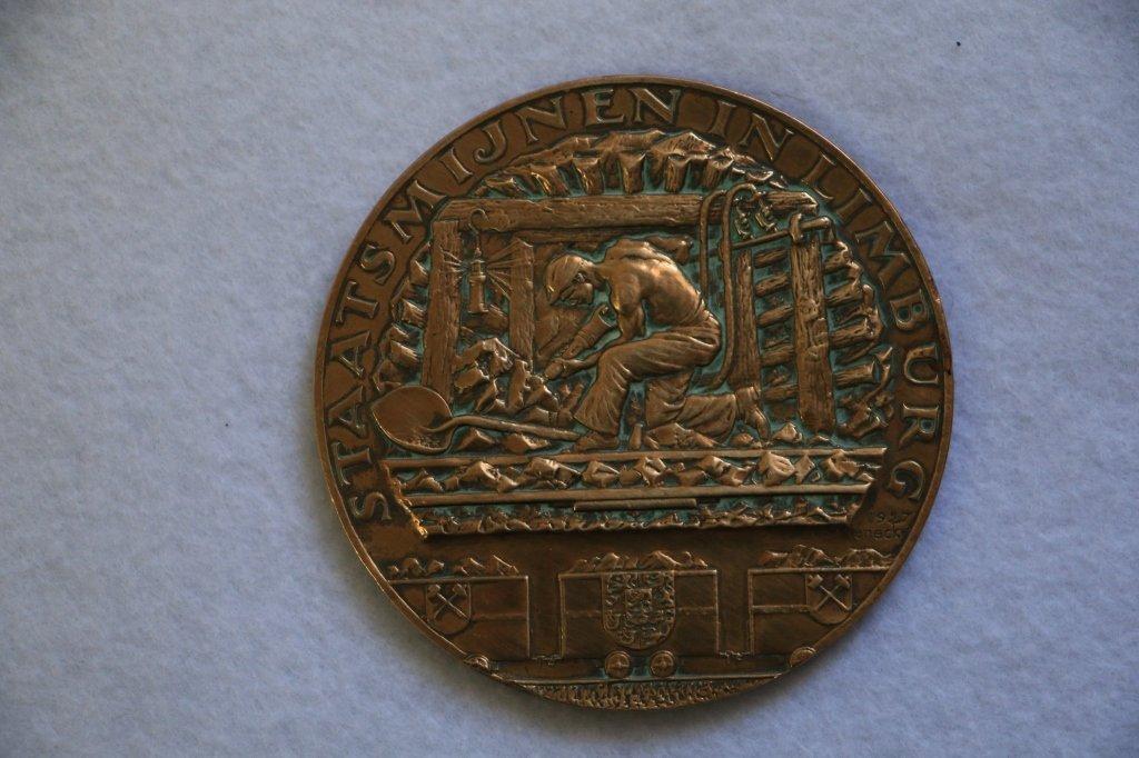 Medal Dutch Coal Mining