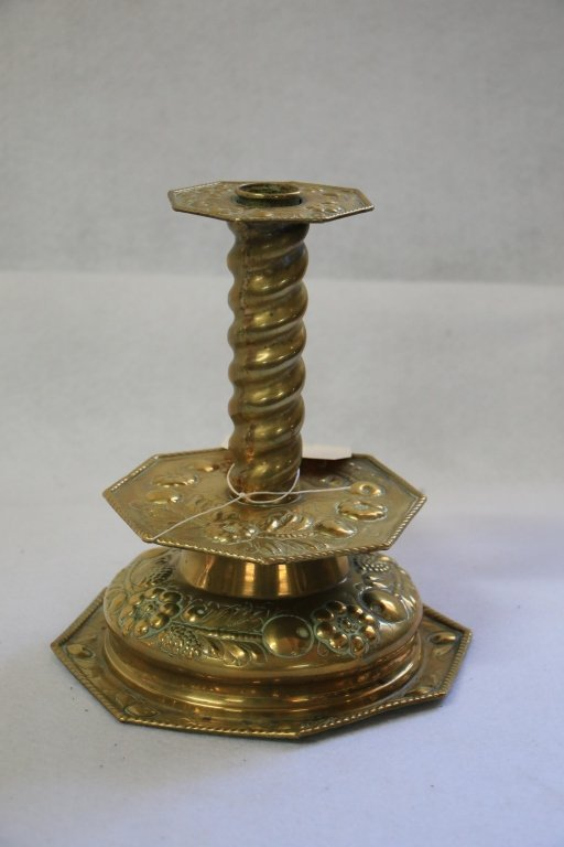 Antique (19th C?) Brass candle stick