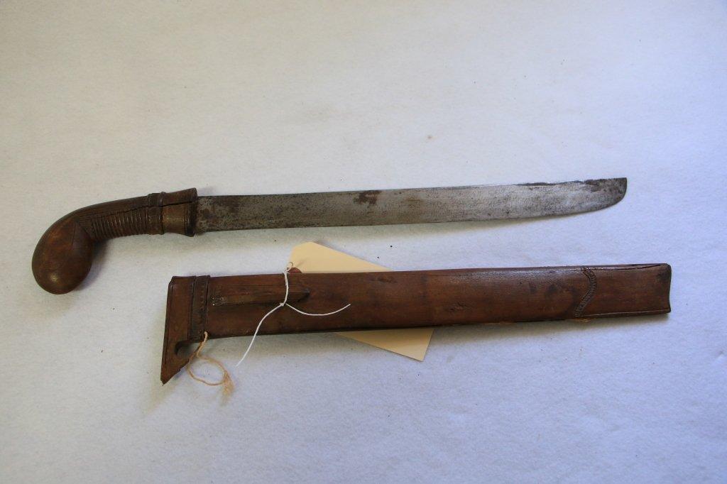 Antique Indonesian Sword in scabbard